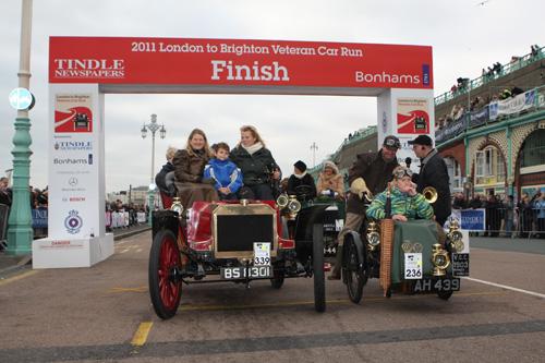 2011 November, LBVCR Finish line